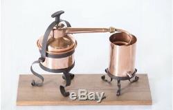 1 litre Copper Still, Distillery, Moonshine, Homebrew Equiment