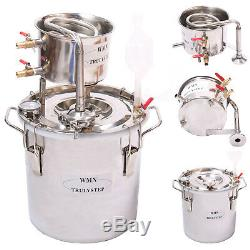 10-100L DIY Home Distiller Moonshine Spirits Still Water Alcohol Oil Brewing Kit