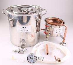 10-100L DIY Home Distiller Moonshine Still Spirits Water Oil Alcohol Brewing