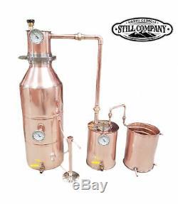 10 Gallon Copper Moonshine Still -distillers Kit