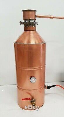10 Gallon Copper Moonshine Whiskey COMPLETE DISTILLERS KIT by Vengeance Stills