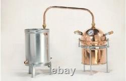 10 litre Copper Still, Distillery, Moonshine, Homebrew Equiment