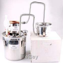 10L-30L 3 Pot DIY Home Moonshine Still Oil Wine Alcohol Distiller Brewing Kit
