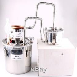 10L-30L 3 Pot DIY Home Moonshine Still Water Oil Wine Alcohol Distiller Brew Kit