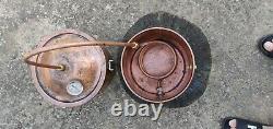 10L/3gal Home Alcohol Distiller Moonshine Stills Copper Pot Still Distillation