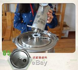 12/20L Moonshine Still Spirits Alcohol Wine Distiller Oil Water Distillation Kit