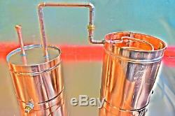 12 Gallon Copper Moonshine/Liquor Still