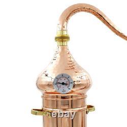 12 Liter Handmade Portuguese Copper Moonshine Alembic Still