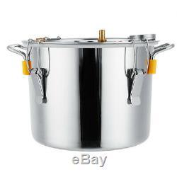 2/3/5/8 Gallons Moonshine Still Spirits Kit Water Alcohol Distiller Copper