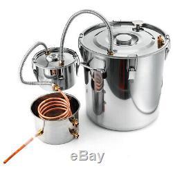 2/3/5/8 Gallons Moonshine Still Spirits Kit Water Distiller