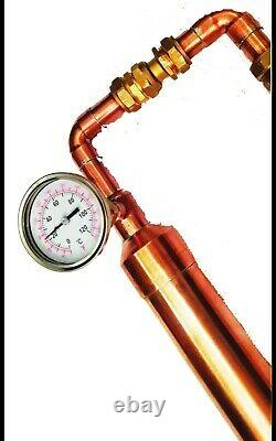 2 Inch Copper Moonshine Pot or Keg Still