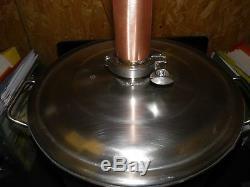 2 Reflux Column, Distiller, 180 Proof, Moonshine, Copper Whiskey Still Column