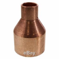 2 X 3/4 Copper Fitting Reducer Moonshine Still Column To Condenser DIY Fits TC