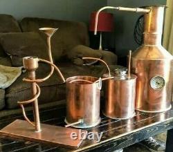 2 gallon Moonshine stills ready to run! Pressure Tested lead free/20oz copper