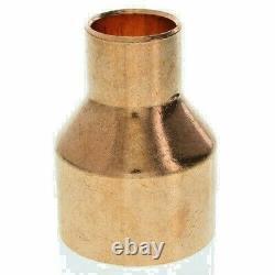 2 x 1 Copper Coupling Reducer Moonshine Spirit Still Column To Condenser DIY