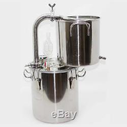 20-70Litre Moonshine Still Home Distiller Boiler Alcohol Oil Brandy Brew Kit