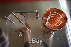 20 Gallon Copper Moonshine Still Complete Craft Distillation Unit Made In US