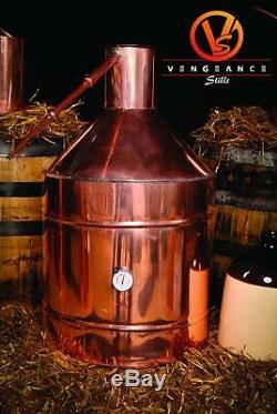20 Gallon Copper Moonshine Still From Vengeance Stills