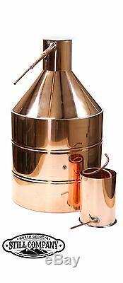 20 Gallon Copper Moonshine Still With 3 Gallon Worm