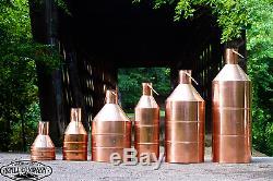 20 Gallon Copper Moonshine Still With 3 Gallon Worm & 3 Gallon Thumper