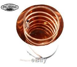 20 Gallon Copper Moonshine Still With 5 Gallon Worm & Thumper