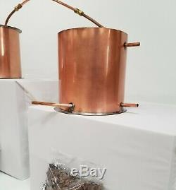 20 Gallon Copper Moonshine Whiskey COMPLETE DISTILLERS KIT by Vengeance Stills