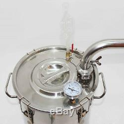 20L-70L Stainless&Copper Moonshine Still Water Distiller Vodka Grape Wine Making