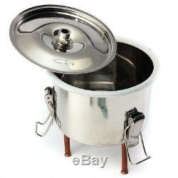 20L Alcohol Moonshine Copper Still Water Distiller Stainless Boiler Thumper Keg