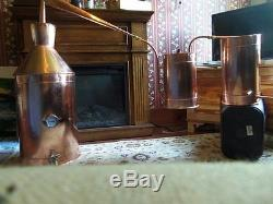 25 Gallon Copper Moonshine Still copper condensing can Thump Keg By Walnutcreek