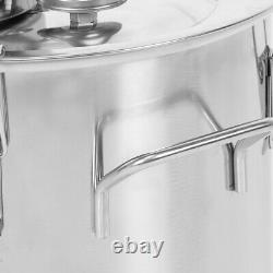 2GAL 2POTS Alcoho Distiller Moonshine Copper Wine Maker Water Still Boiler
