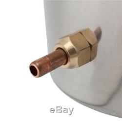 2Gal 8L DIY Alcohol Distiller Moonshine Ethanol Copper Still Stainless Boiler