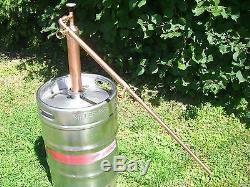 2column Ethanol Moonshine Whiskey, Copper Still Olympic Beater! Moonshine