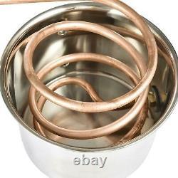3 5 8 Gallon Water Alcohol Distiller Moonshine Ethanol Copper Boiler DIY Home UK