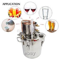3 Gal 5 Gal Moonshine Still Spirits Kit Water Alcohol Distiller DIY Home Brewing