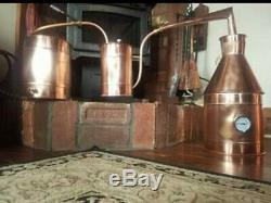 3 Gallon Copper Moonshine Still / Copper Condensing/Thump can by Walnutcreek