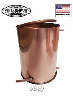 3 Gallon Copper Moonshine Worm Condenser