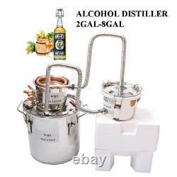 3 POTS Home Distiller Keg Moonshine Still Spirits Water Alcohol Whiskey Gin Oil