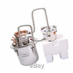3 Pots DIY 5 Gal 20 Litres Copper Alcohol Moonshine Ethanol Still Spirits Boiler