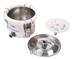 3 Pots DIY Home Distiller Moonshine Still Spirits Water Alcohol Oil Brew Kit NEW