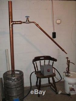 3 in 1 Copper 3 column E85 moonshine still alcohol VM LM reflux pot