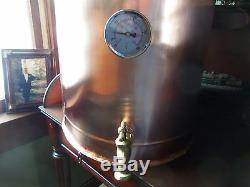 35 Gallon Copper Moonshine Still copper condensing can Thump Keg By Walnutcreek
