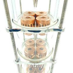 4 glass copper bubble plate distilling reflux column moonshine still