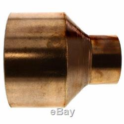 4 x 2 Copper Coupling Reducer Moonshine Still Column To Condenser DIY