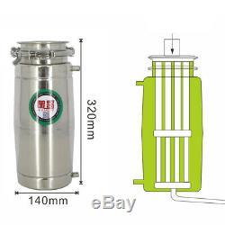 5/8GAL 30L Copper Distiller Moonshine Wine Water Alcohol Brewing Still Boiler