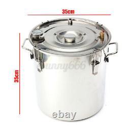 5/8Gal/20/35L Distiller Moonshine Ethanol Alcohol Still Water Boiler Thumper Keg