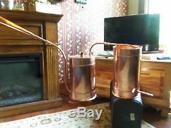 5 Gallon Copper Moonshine Still / Copper Condensing/Thump can by Walnutcreek