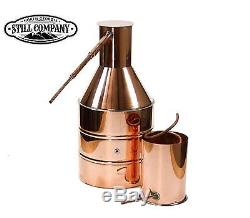 5 Gallon Copper Moonshine Still With Worm