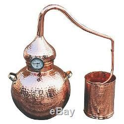 5 Gallon Copper Moonshine Still for Whiskey, Moonshine & Essential Oils