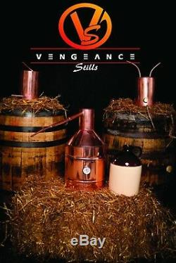 5 Gallon Copper Moonshine Still with Worm and Thumper from Vengeance Stills