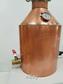 5 Gallon Copper Moonshine Whiskey COMPLETE DISTILLERS KIT by Vengeance Stills